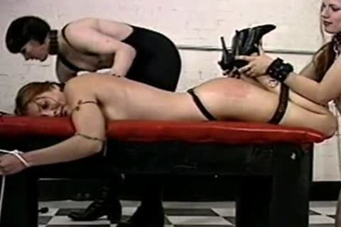 slavemaster tranny Hurts Her serf really Hard