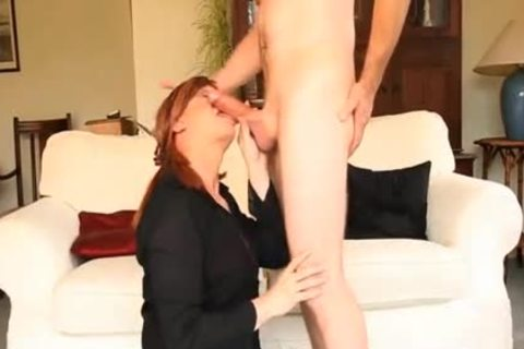 tranny hooker Luci May Has large weenie In throat And booty before Facial ball cream flow