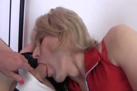 filthy Crossdresser prostitutes Love Sixtynine engulfing large shlong Who Will cum First