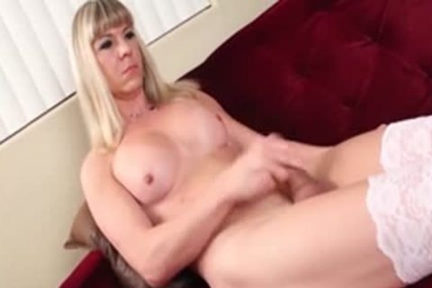 slutty ladyboy Lora Hoffman With large penis In nasty Solo Action