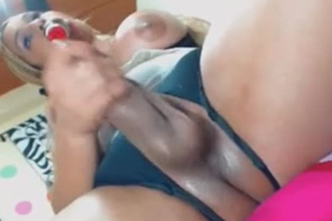 busty shemale bonks Her horny hole