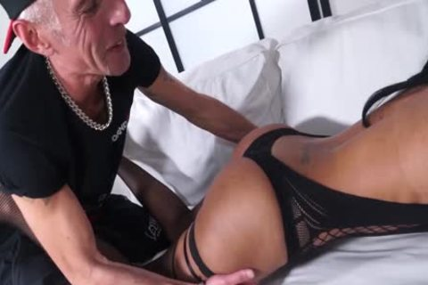 lascivious Sultry lady-man nails Italian stud-horse