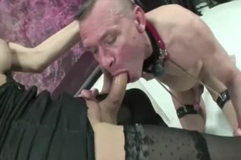 blonde lady-boy With A Monster knob Dominates favourable man!