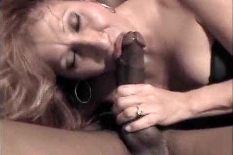 Latin blond old lady-man Sucks With ejaculation A Bbc (admirable!)