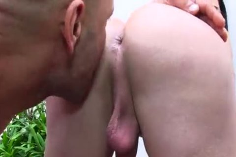 Sultry ladyboy Victoria Carvalho And A lad suck Each Others penises