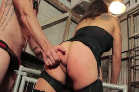 Tori Mayes Has A cock Inserted Into Her a-hole