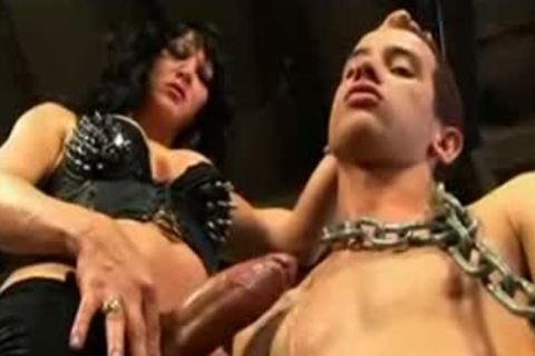Crossdresser Ties Her man And Uses Him For A bang toy