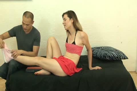 enchanting Sissy White TS Korra Del Rio banged By asian ramrod