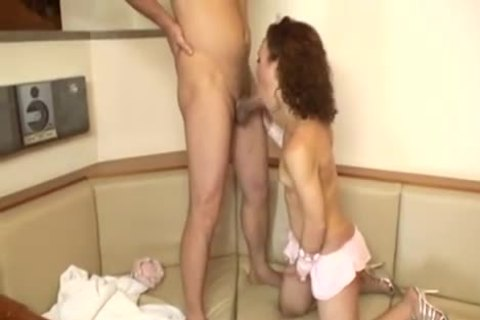 Burning tranny receives A ramrod place inions After toying