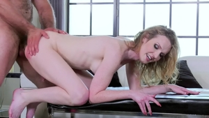 Trans Angels: Shemale Kayleigh Coxx cock sucking outdoors