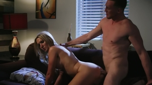 Transsensual: Kayleigh Coxx rough anal fucked blowjob