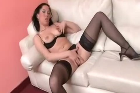 Titty blonde this babemale Doing A girl