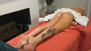 GenderX: Nadia Love in tandem with Will Havoc reality massage