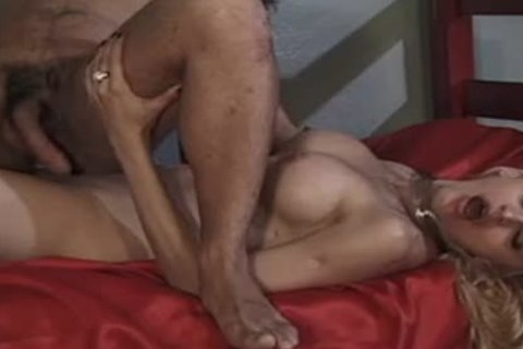 beautiful blond t-girl With Great mounds likes Getting Her wang Sucked And wazoo fucked