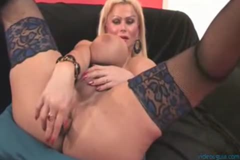 Titty shemale Plays With sex toys