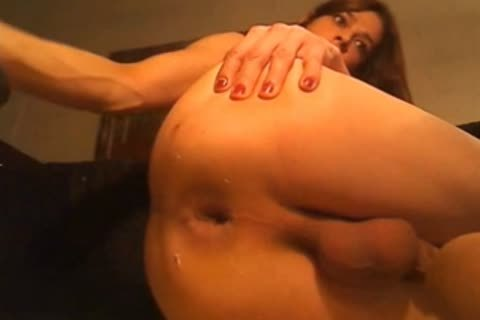 dilettante tranny arse Stuffed With toys