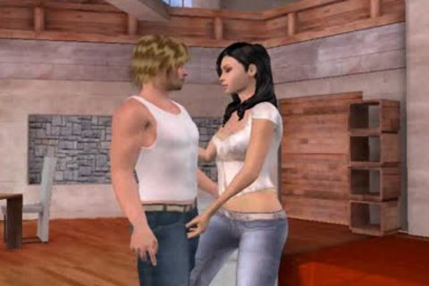 charming 3D Cartoon shemale babe driled Hard anally By Jj1zzny