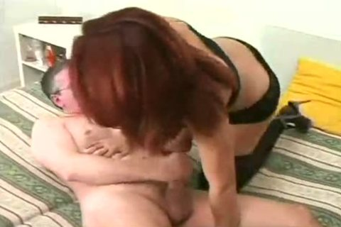 old guy And stunning Brazilian Sthis manmale