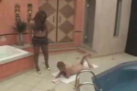 transsexual Sara bangs By The Spa 1