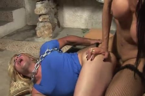 tranny Barby ass pounding sissy male