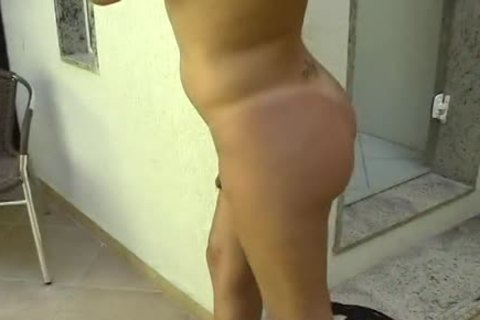 hawt Blond lady-man Dances And toys her booty