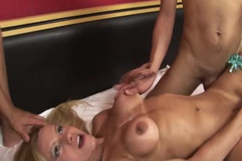A ladyman Who's Having enjoyment With Two dicks