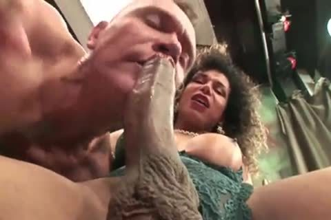 busty tgirl Cums In His mouth