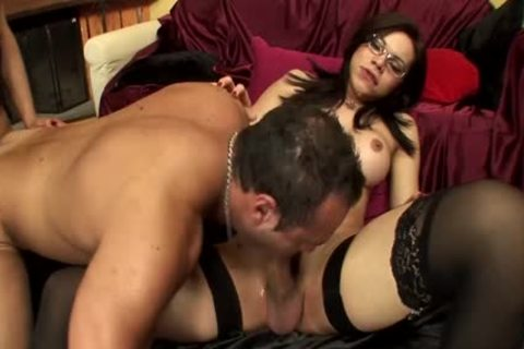 Randy trannies plow In 3some
