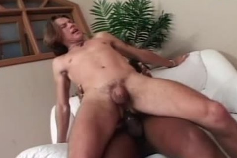 Painful ass From A big darksome tranny cock